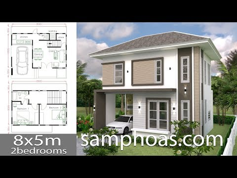 small-home-design-plan-8x5m-with-2-bedrooms