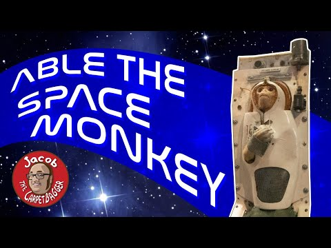 Smithsonian Air and Space Museum - Featuring Able the Space Monkey