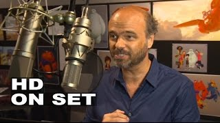 "Big Hero 6: Scott Adsit ""Baymax"" Behind the Scenes Movie Audio Recording"