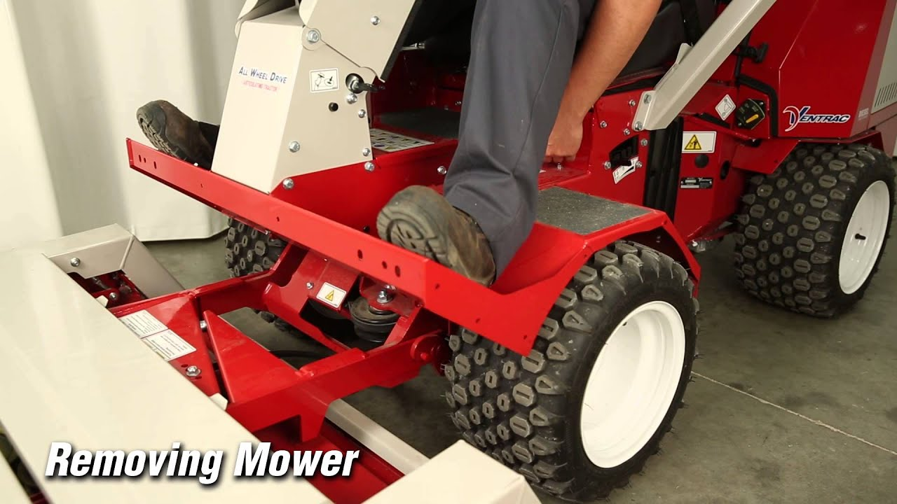 Ventrac 3400 How to Connect Tractor Attachments