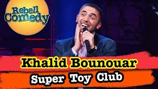 Khalid Bounouar im Super Toy Club