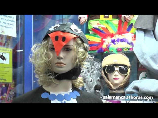 Las tiendas de disfraces, a pleno rendimiento en Carnaval