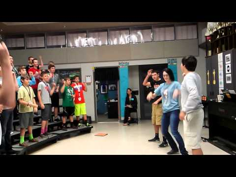"InspireChoir Rehearsal Series, Harpool Middle School Varsity Men - ""Always Seize the Day!"" Choir"