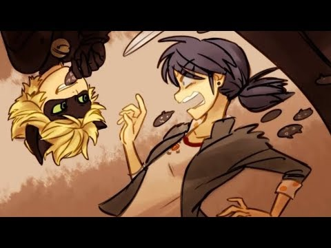 CHAT NOIR PULLS HALLOWEEN SCARE ON MARINETTE! ★ Miraculous Ladybug Comic Dub Animations