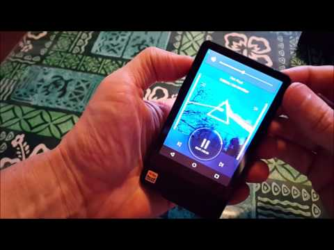 Hidizs AP200 Android HiFi music player