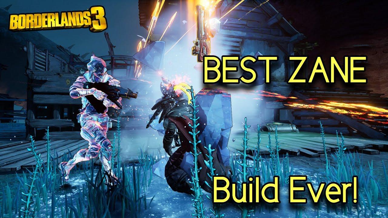 "My Best Zane Build So Far - Borderlands 3: ""Zane"" Hybrid"