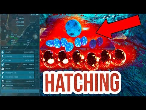 HATCHING AWESOME ENEMY EGGS!!!  ARK Official Small Tribes PvP Ep. 12