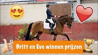 Britt en Eve winnen prijzen | PaardenpraatTV