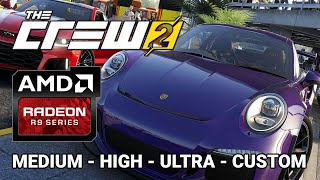 Radeon R9 380 | The CREW 2 Benchmark | Medium High Ultra Custom