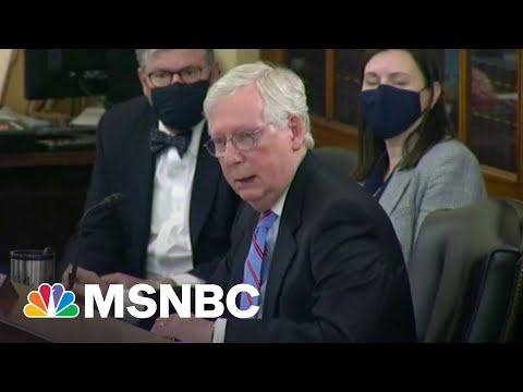 McConnell On 'Personal Mission' To Kill Voting Rights Bill, GOP Preps Over 100 Amendments   MSNBC