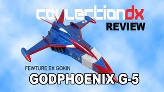 EX Gokin Gatchaman G-5 Godphoenix Review - CollectionDX