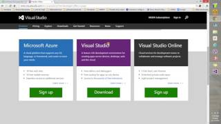 001 Find, Download and Install Visual Studio Community