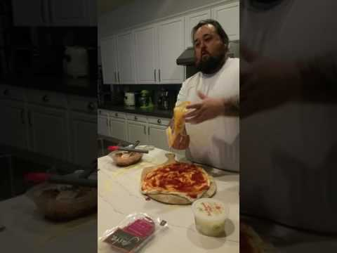 Pawn Stars Chumlee making a homemade pizza