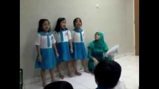 Lucu Banget Anak TK Nyanyi Lagu Jawa