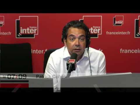 François Baroin au micro de Patrick Cohen