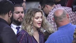 Drew Barrymore outside Jimmy Kimmel Live in Hollywood