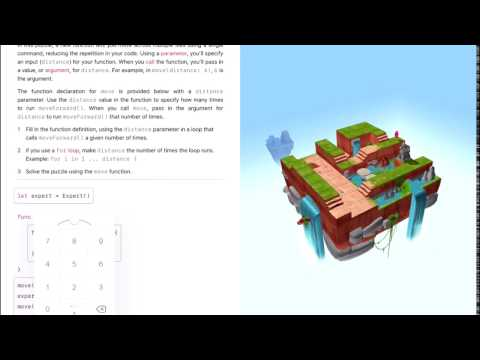 Learn to Code 2 #076: Moving Further Forward, Parameters – Swift Playgrounds