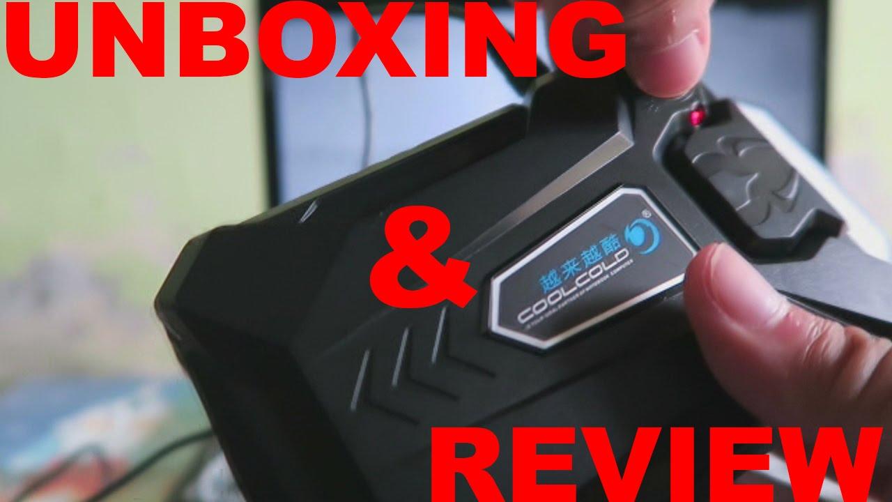 Unboxing Review Coolcold Universal Laptop Vacuum Cooler Youtube Kipas Pendingin Cooling Pad