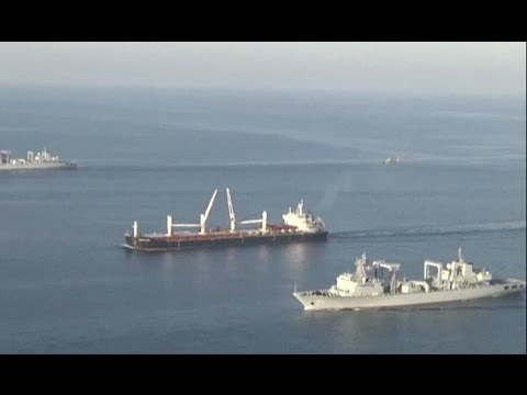 Thumbnail: China's Naval Formation Conducts Anti-piracy Exercise in Gulf of Aden