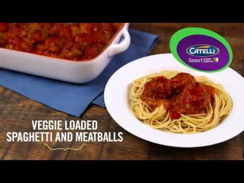 Catelli® - Veggie Loaded Spaghetti and Meatballs
