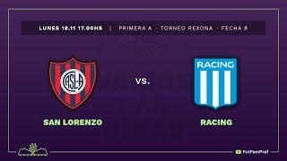 San Lorenzo 2 - 1 Racing | #VamosLasPibas | Fútbol femenino