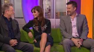 Jenna Louise Coleman Legs - The One Show (1080p HD)