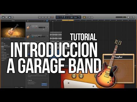 Como usar Garage Band TUTORIAL - Introducción