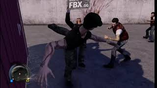 Sleeping Dogs fight in martial arts club all combos 2019
