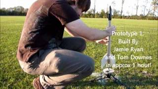 University of Kent Space Society Model Rocket Launch