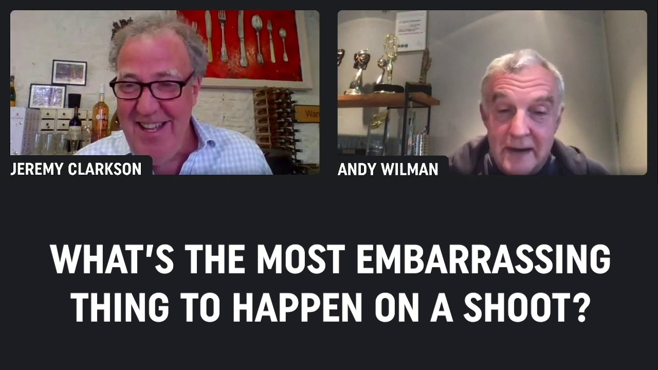 Jeremy Clarkson and Andy Wilman reminisce about their most embarrassing filming moments