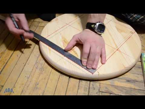 Как найти центр круга окружности