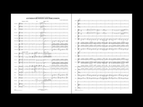 Anthem for Winds and Percussion by Claude T. Smith