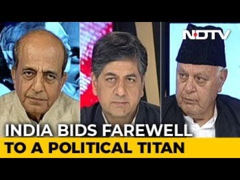 India Bids Farewell To Its Bharat Ratna, Atal Bihari Vajpayee