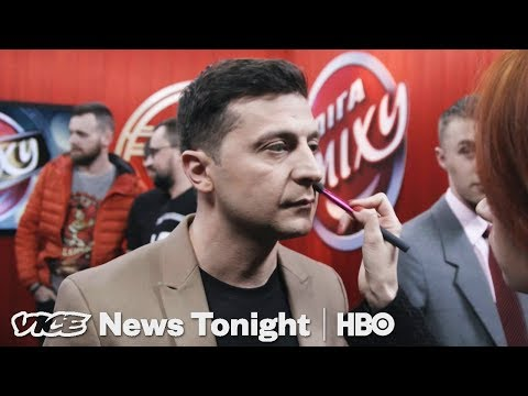 Meet The Comedian About To Become Ukraine's Next President (HBO)