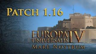 Wie wird EU4 »Mare Nostrum«? - Patch 1.16 - Die freien Features im Überblick