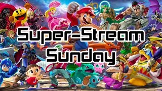 Super-Stream-Sunday: Mario Kart 8 Deluxe and Super Smash Bros. Ultimate Gameplay
