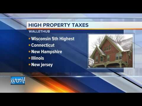 Report: Wisconsin Has One Of Worst Real-estate Property Tax In US