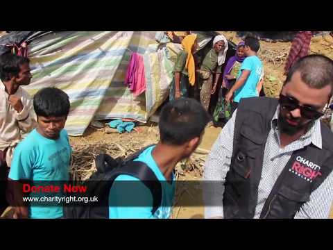 Charity Right | Rohingya Refugees - Mountain and Forrest Distribution