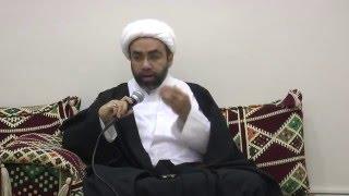 اضواء عامة على شروط النصر الإلهي الشيخ أحمد عبدالجبار السمين