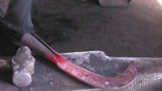 cómo se forja una herramienta (calaboza)