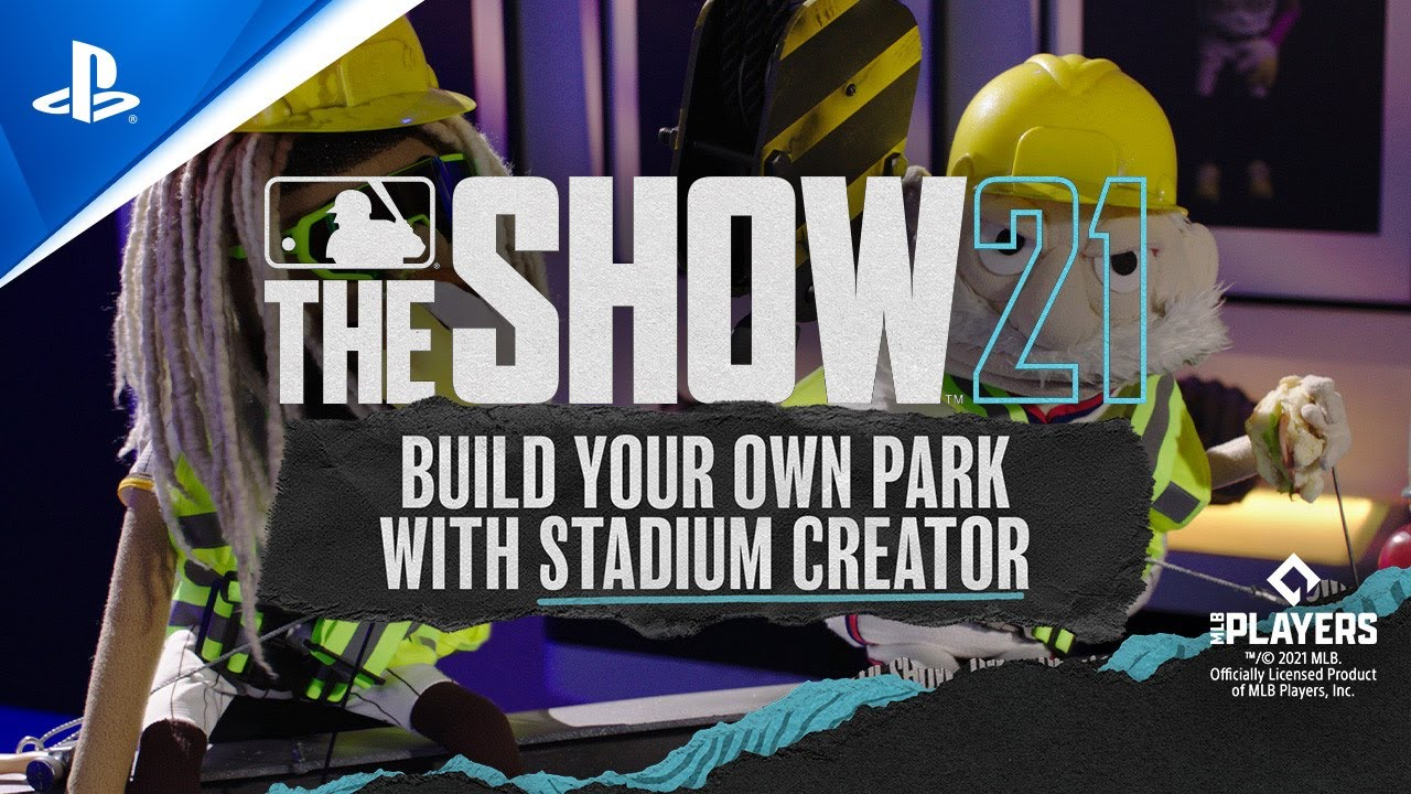 MLB The Show 21 – 4K 60FPS  Get the lowdown on Stadium Creator with Coach & Fernando | PS5