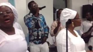 ccc ileri oluwa parish namimg ceremony