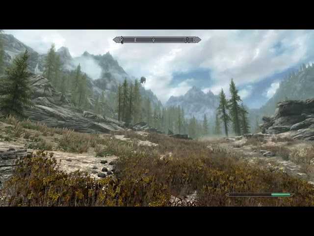 Just a normal day on skyrim