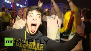 Germany: Berliners party into the night after World Cup win