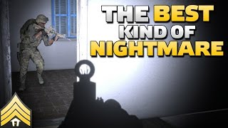 The best kind of nightmare - Arma 3 Night Urban Combat