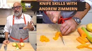 Basic Knife Skills wİth Andrew Zimmern