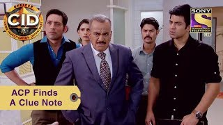 Your Favorite Character   ACP Finds A Clue Note   CID