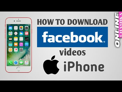 How To Download Facebook Videos On Iphone | Ios | Mac