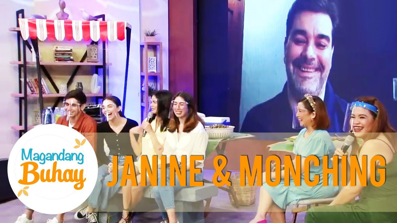 Janine shares her funny memory with Popshie Monching | Magandang Buhay