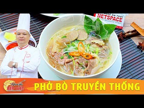 Cách nấu phở ngon | Học nấu ăn | Khám Phá Bếp Việt | Vietnamese Beef Noodle soup (Pho)